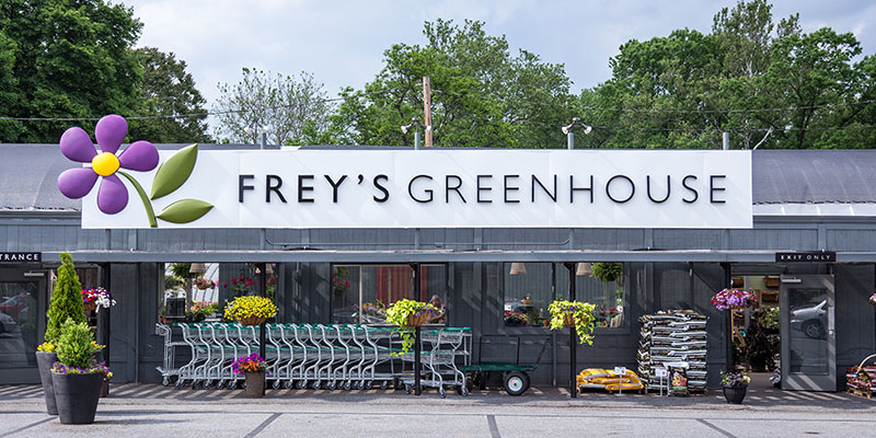 Frey's Greenhouse in Lancaster, PA
